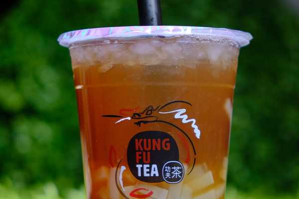 Passionfruit Jelly tea